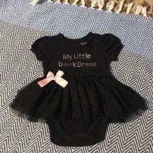 """Baby girl """"Little black dress"""""""
